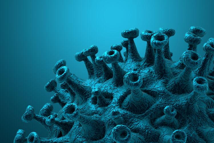 coronavirus,disease,covid 19,outbreak.,microscopic,view,of,a,infectious,virus.